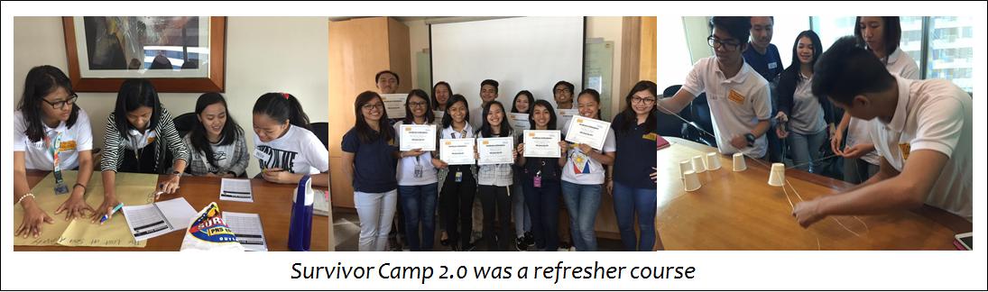 Survivor Camp Refresher